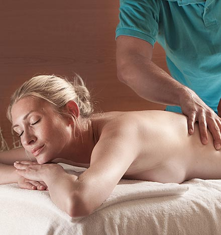 Massagegutschein für Hot-Stone Massage in der Westfalen-Therme