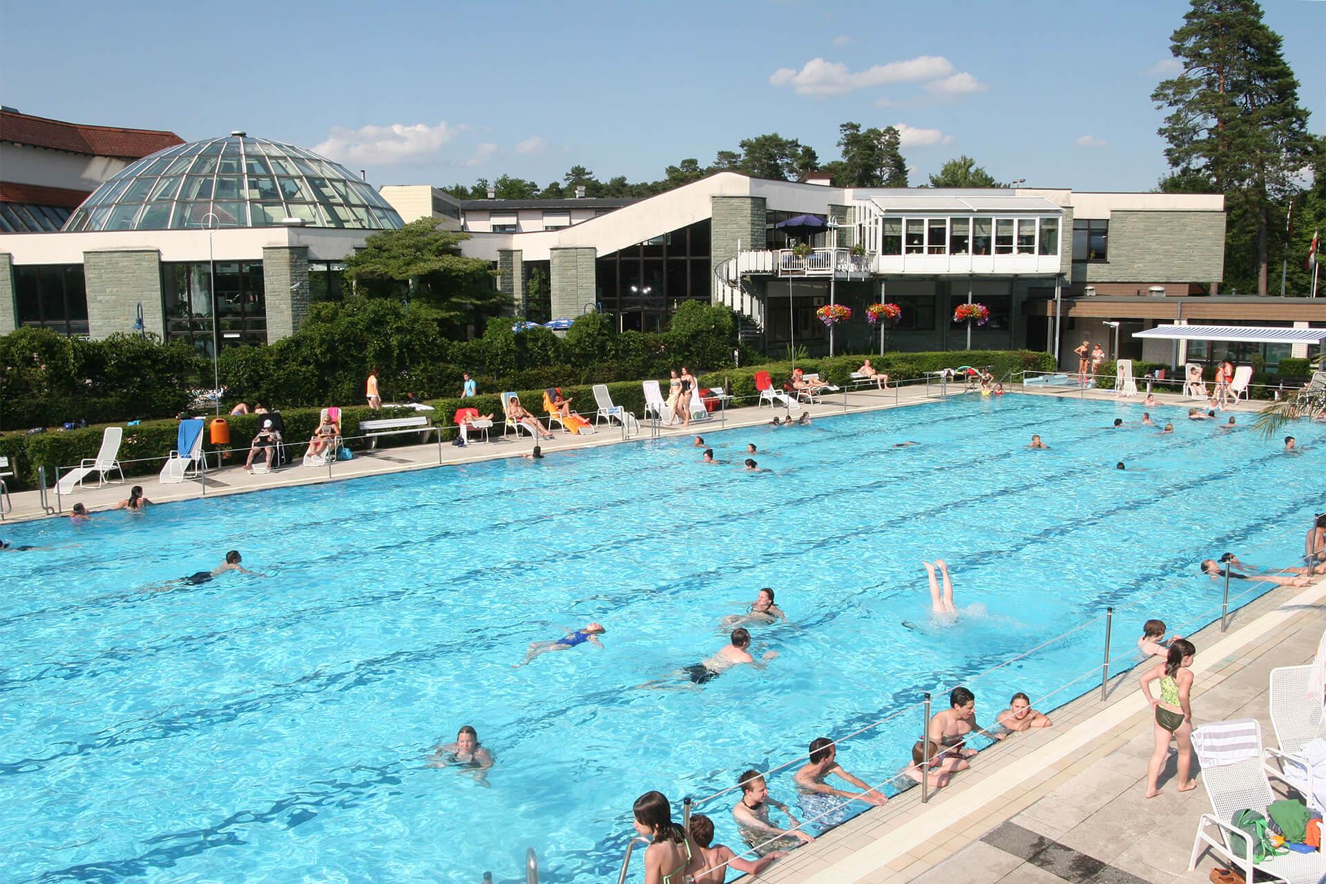 Schwimmbad und Freibad Paderborn Wellness in der Westfalen