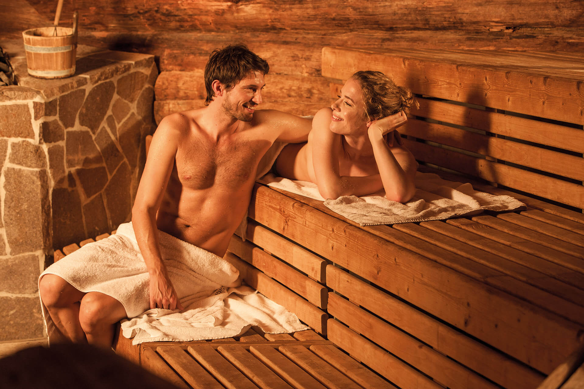 Sauna & Wellness in der Therme