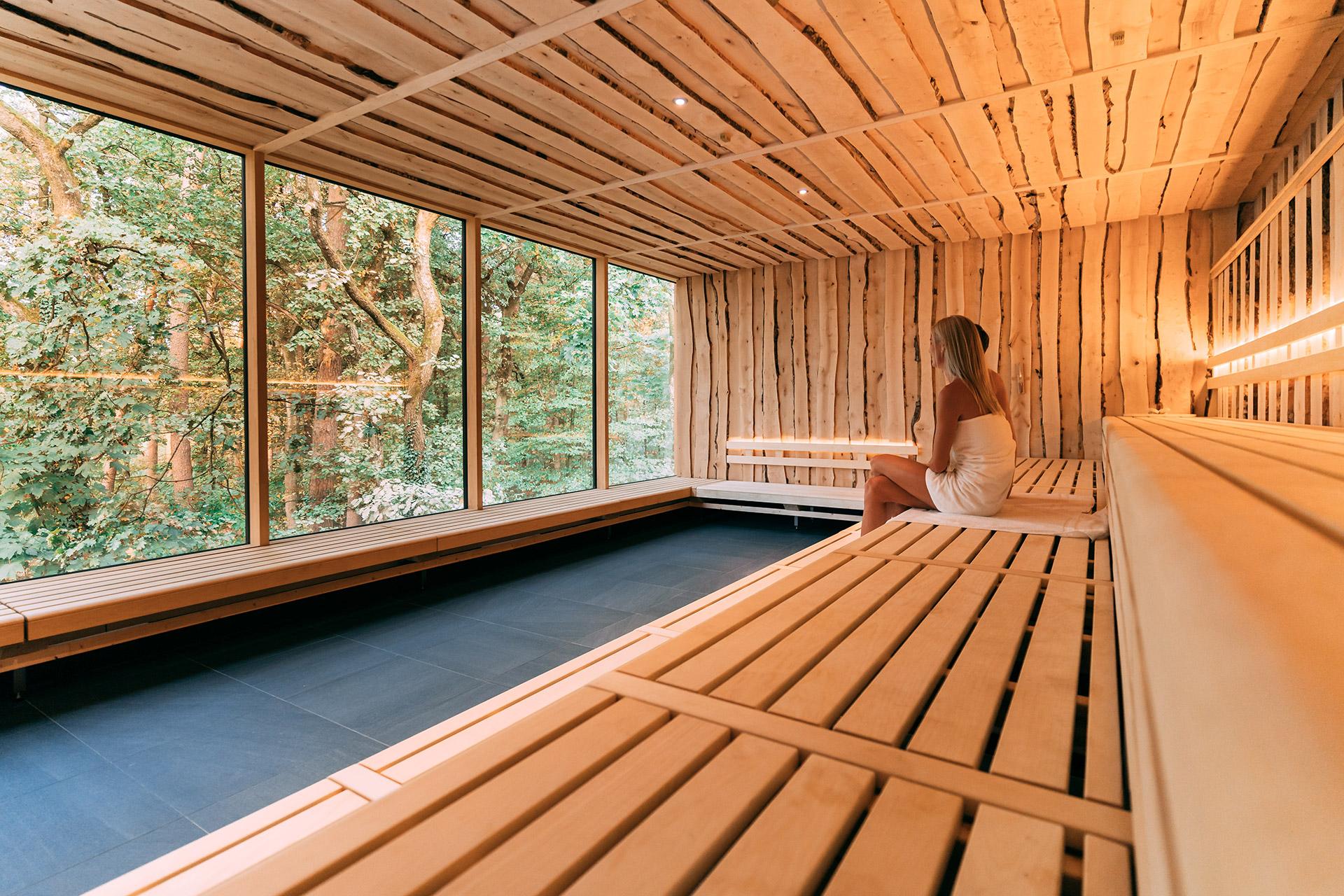 Sauna nackt familien Sauna mit
